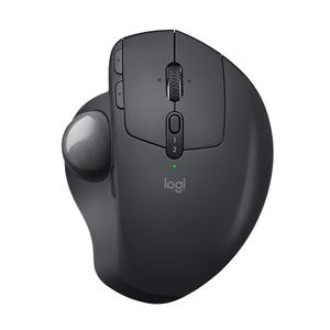 d994616e10f Logitech MX Ergo Wireless + Bluetooth Trackball Mouse Black