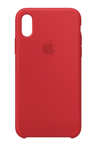 Apple Silicone Case Red for iPhone X