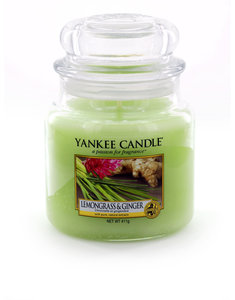 Yankee Candle Classic Jar - Medium Lemongrass & Ginger