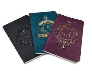 Harry Potter: Spells Pocket Journal Collection: Set of 3