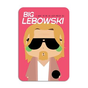 The Big Lebowski Card by Ninasilla [10.5 x 14.8 cm]