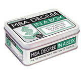 MBA Degree in a Box: All the Prestige for a Fraction of the Price