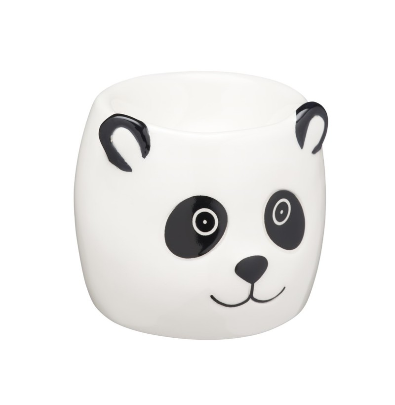 Kitchencraft Panda Egg Cup Tableware Cooking Dining House