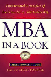 Mba In A Book Fundamental Principles Of Business Sale And Leadership