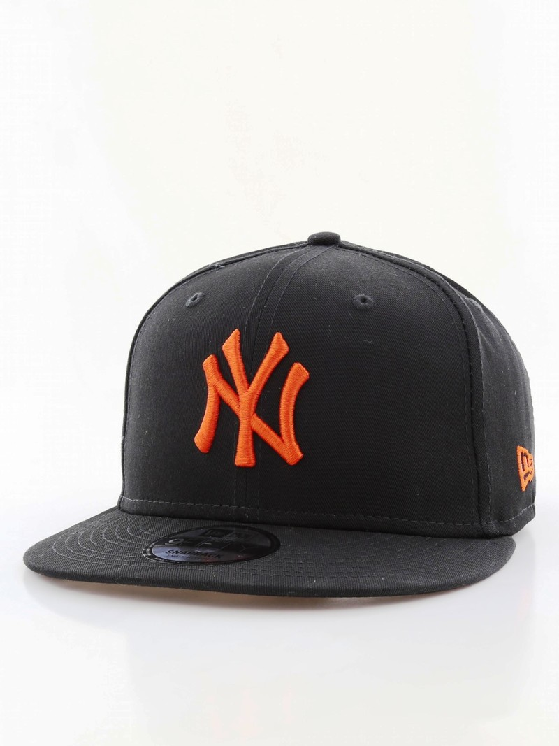 9b993754 New Era League Essential NY Yankees Cap Black/Orange