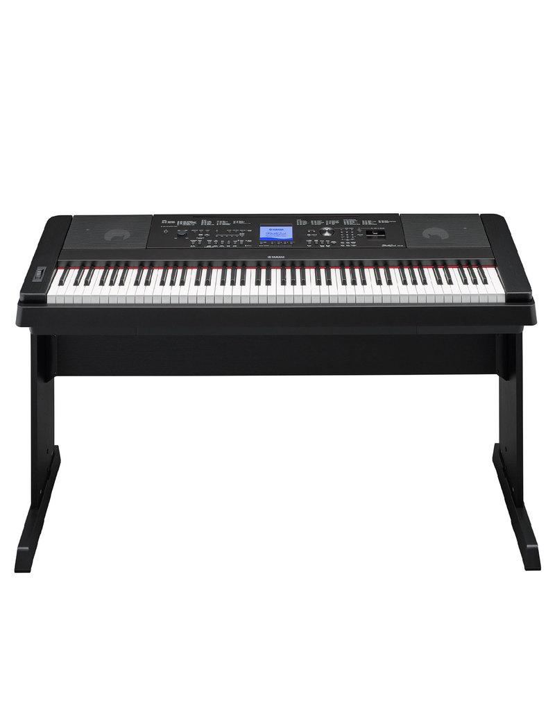 Yamaha dgx 660b portable digital piano digital pianos for Yamaha piano dealer near me