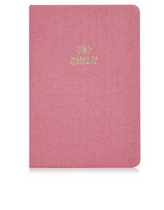 Skinny Dip Yas Queen Large Pink Notebook