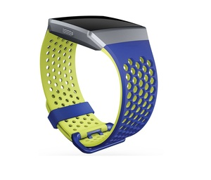 Fitbit Sport Band Blue/Yellow Large For Ionic