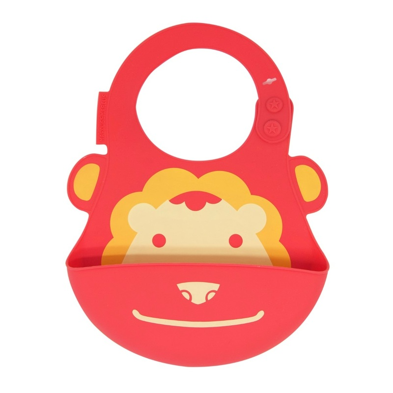 Marcus & Marcus Marcus The Lion Red Baby Bib