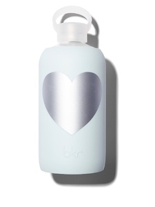 BKR Silver Wren Heart Water Bottle 500ml