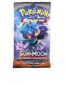 POKEMON TCG SUN & MOON 3 BURNING SHADOWS BOOSTERS