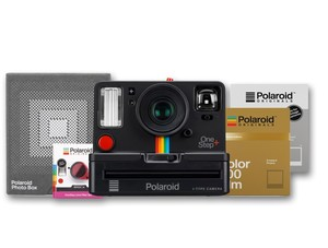 Polaroid OneStep+ Instant Camera Starter Set Black