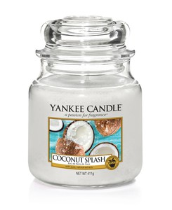 Yankee Candle Classic Jar Coconut Splash [Medium]