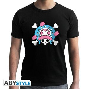 Abystyle One Piece Skull Chopper Men's T-Shirt Black