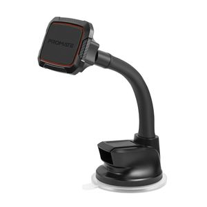 Promate MagMount-6 Maroon 360° Cradleless Magnetic Car Mount with Flexible Gooseneck
