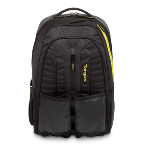 Targus Work & Play Rackets Backpack Black/Yellow Fits Laptop up to 15.6""