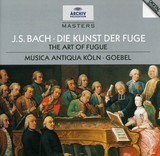 BACH: THE ART OF THE FUGUE (GER)