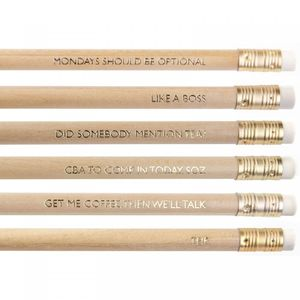 Ohh Deer Misc Ranges Werkin It Pencil Set