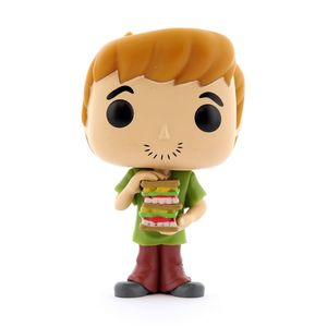 Funko Pop Animation: Scooby Doo-Shaggy with Sandwich Vinyl Figure