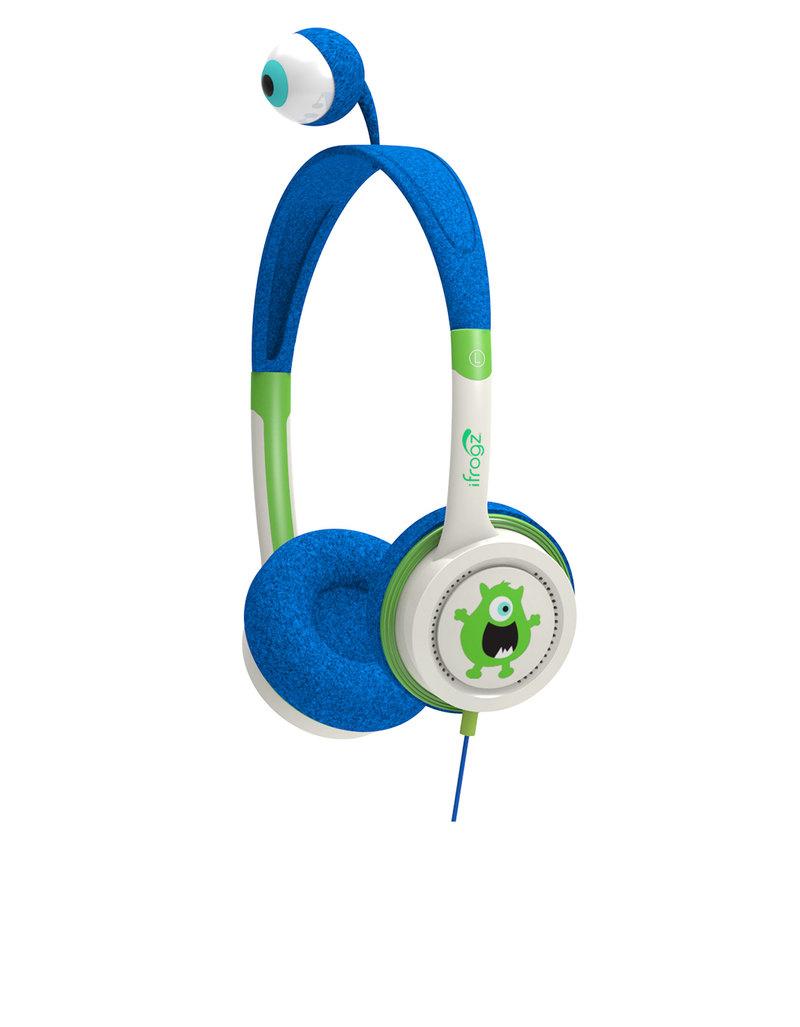 iFrogz Little Rockers Costume Blue Monster Headphones