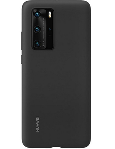 Huawei Silicone Case Black for P40 Pro