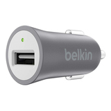 Belkin Mixit Metallic Grey Car Charger