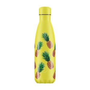 Chilly's Bottle New Icon Pineapple Water Bottle 500 ml
