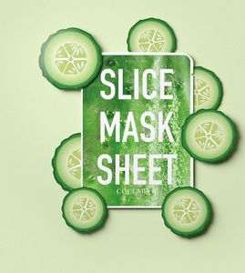 Kocostar Slice Mask Sheets Cucumber [Pack of 12]