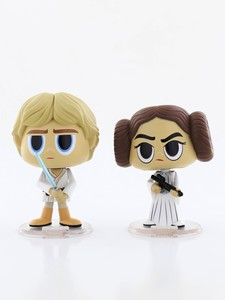 Funko Pop Star Wars Princess Leia & Luke Skywalker Vinyl Figures [2 Pack]
