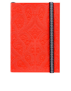 Libretto A6 Paseo Embossed Layflat Notebook Scarlet