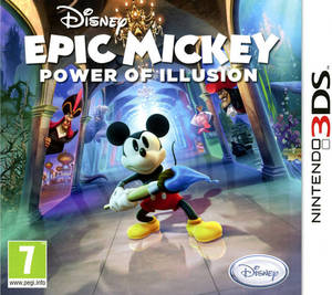 Disney Epic Mickey 2 Power Of Illusion 3Ds