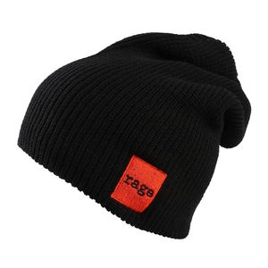 Rage Against The Machine Red Square Beanie Black