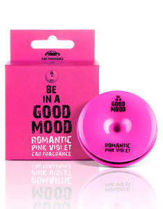 Good Mood Romantic Pink Violet Car Fragrance 0.52 Oz.