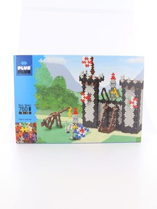 Plus-Plus Mini Basic Knights Castle Building Blocks [760 Pcs]
