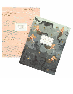 Rifle Paper Co Mermaid Notebooks [Set of 2]