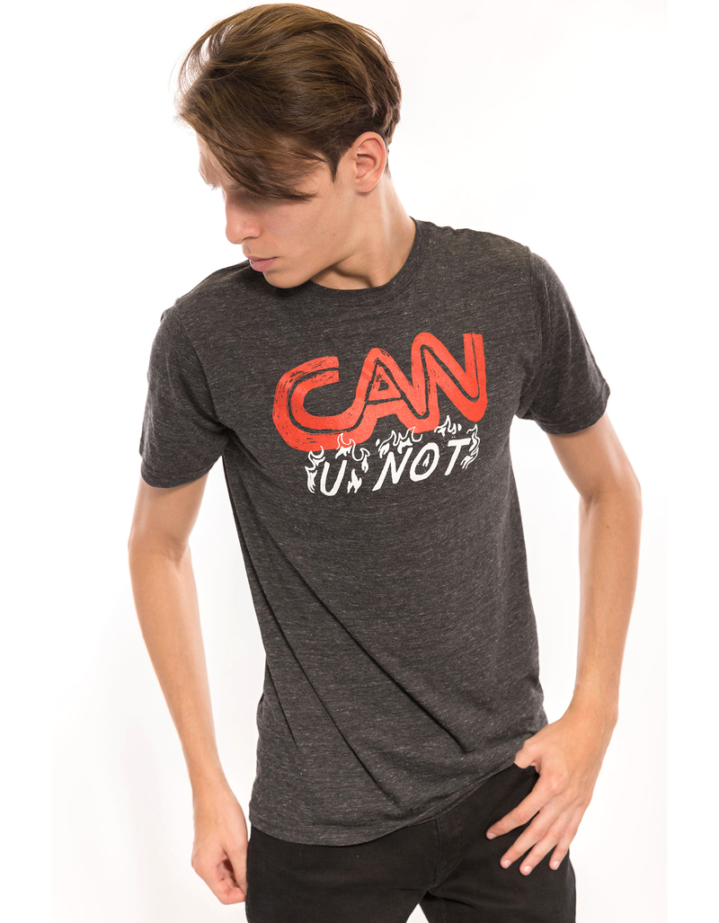 Reason Can U Not Black Men T-Shirt L