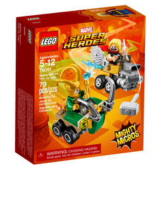 Lego Mighty Micros Thor VS Loki 76091
