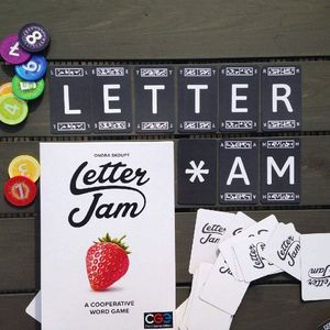 Czech Games Edition Letter Jam Game