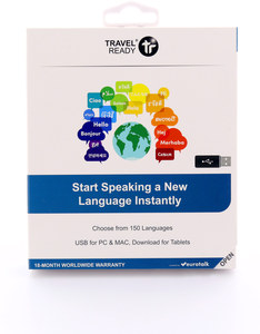 Travel Ready All In One Instant Language USB