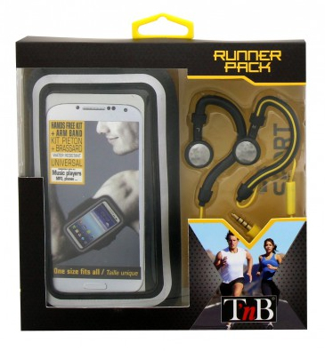 Tnb Runner Pack Sport Pack With Armband + Earphones
