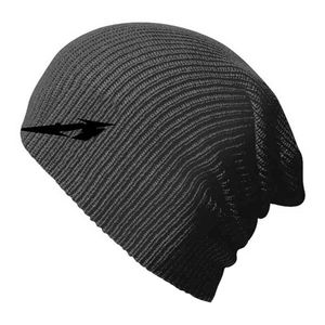 Metallica Glitch M Circle Beanie Grey