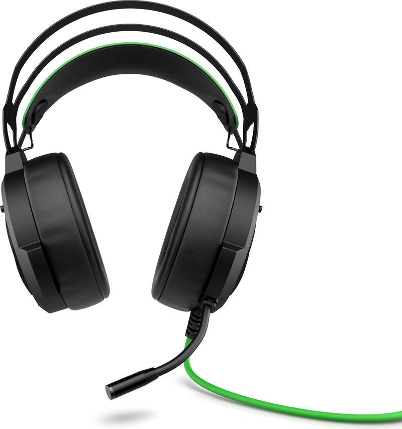 HP Pavilion 600 Black/Green Gaming Headset