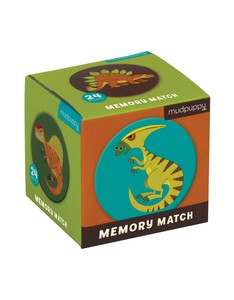 Mudpuppy Mighty Dinosaurs Mini Memory Match Game
