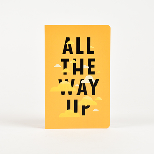 Letternote All The Way Up Vivid Series Notebook