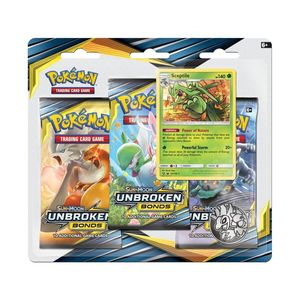 Pokemon TCG-SM10 Unbroken Bonds 3-Pack Blister