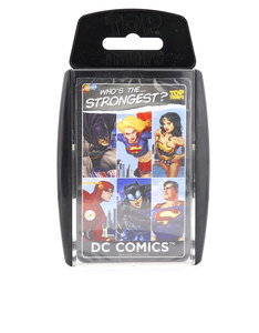 Top Trumps DC Superheroes Card Game English & Arabic