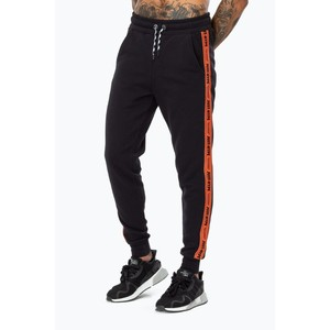 Hype Warning Tape Men'S Joggers Black/Orange L