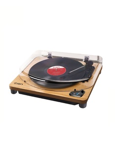 ION Air LP Wood Wireless Streaming Turntable