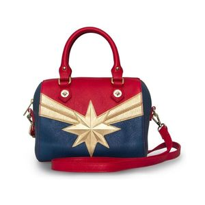 Loungefly Marvel Captain Marvel X-Body Tote Bag