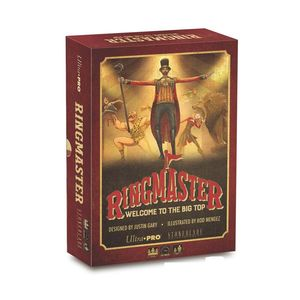 Ringmaster Welcome To The Big Top Boardgame